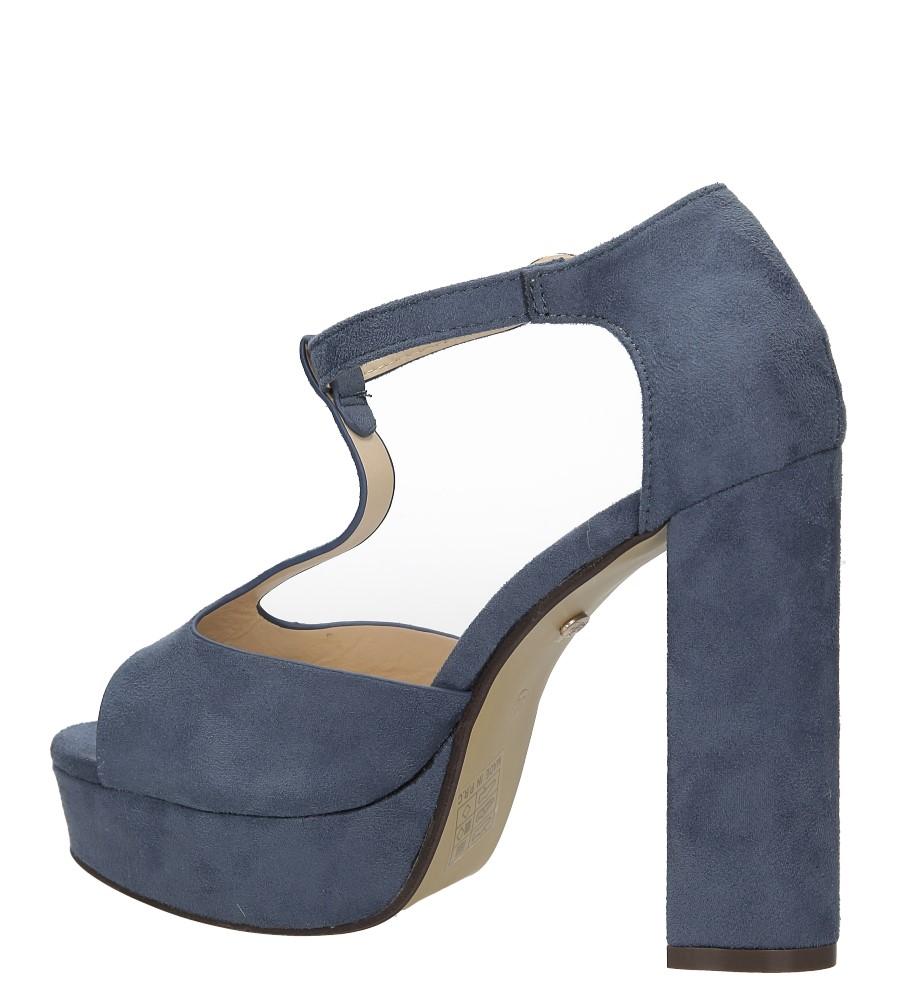 Sandały na słupku Casu AF-8669 wysokosc_obcasa 12 cm