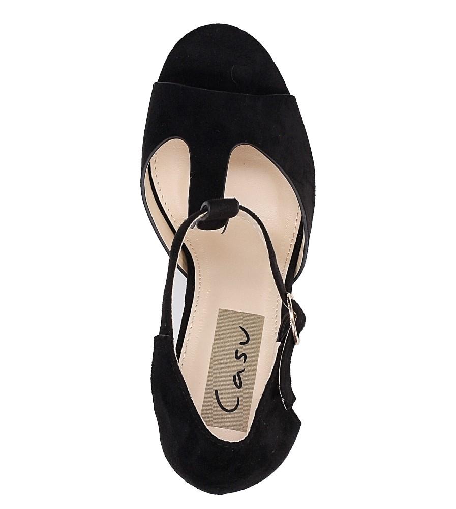 Sandały na słupku Casu AF-8669 wysokosc_platformy 2 cm