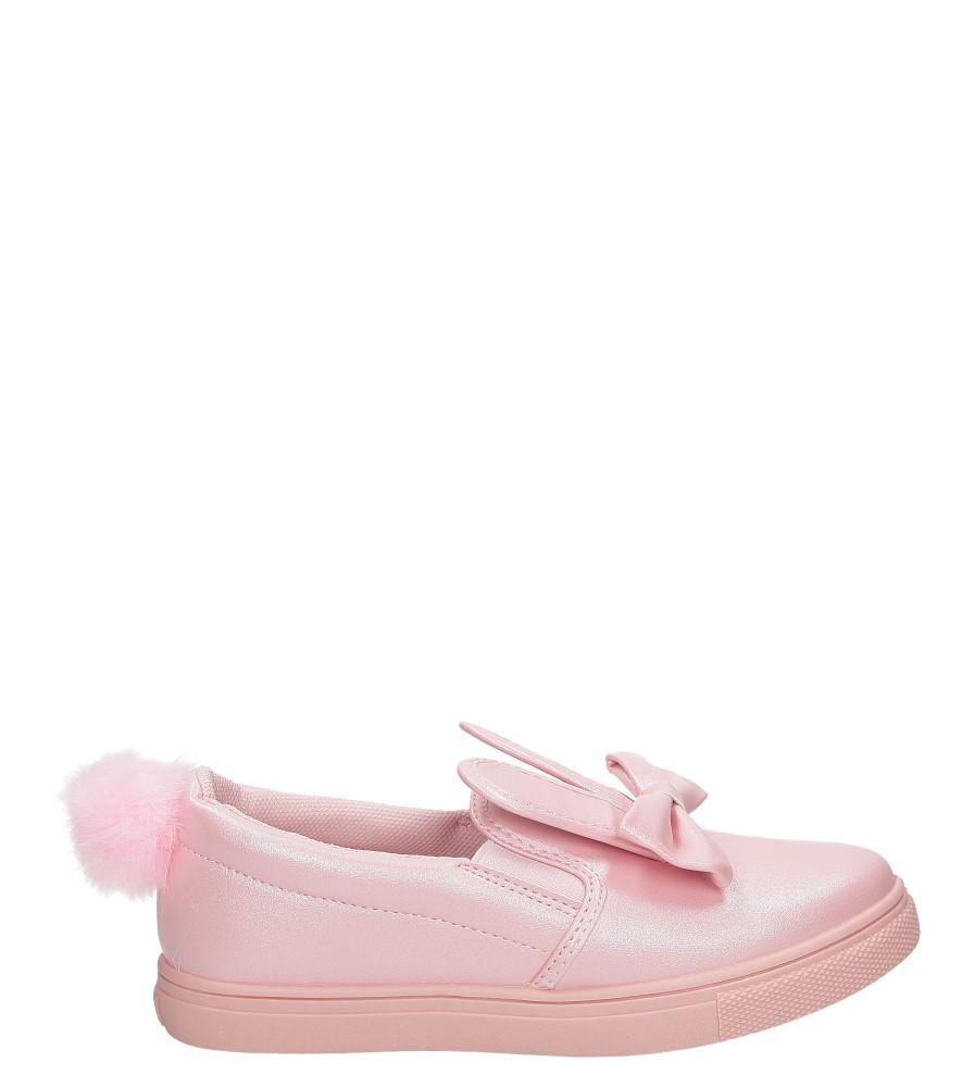 Dziecięce Slip on z uszkami Casu 5XC7482 różowy;;
