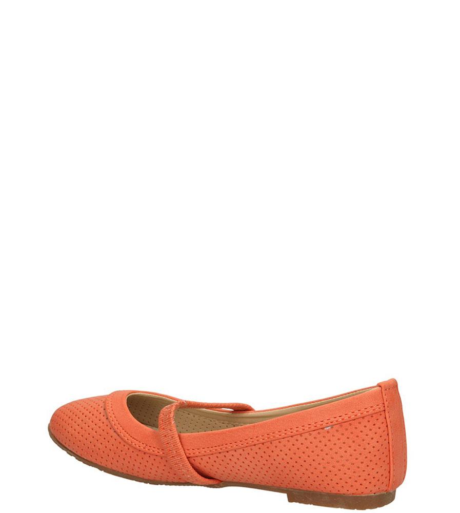 BALERINY C093 kolor pomarańczowy