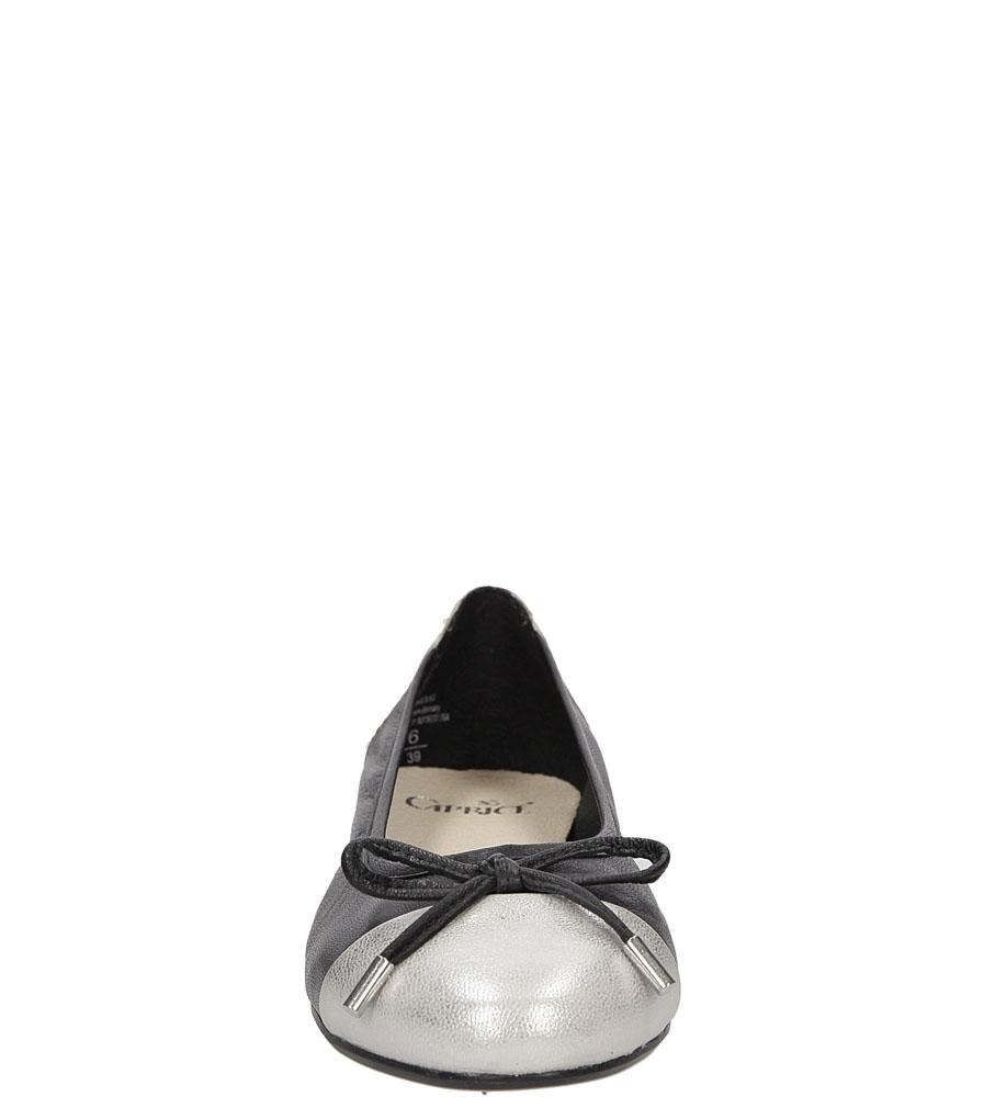 BALERINY CAPRICE 9-22105-28 kolor czarny