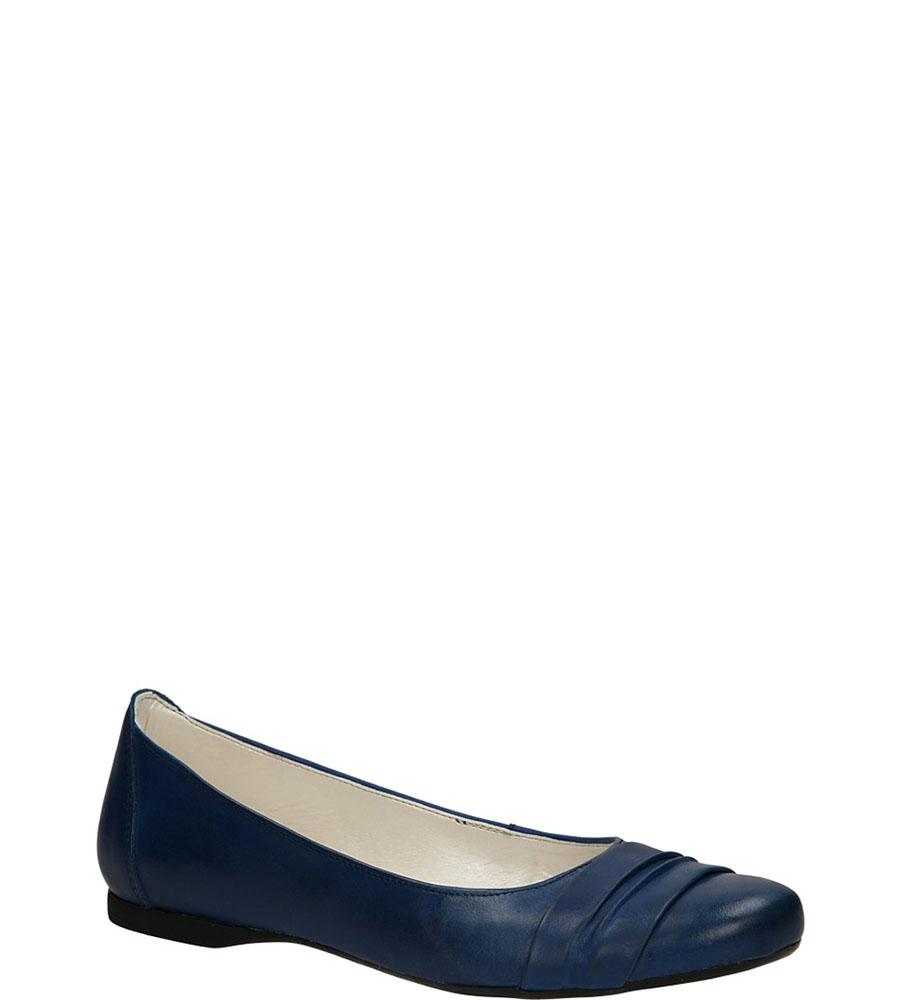 Damskie BALERINY CASU 139 niebieski;;