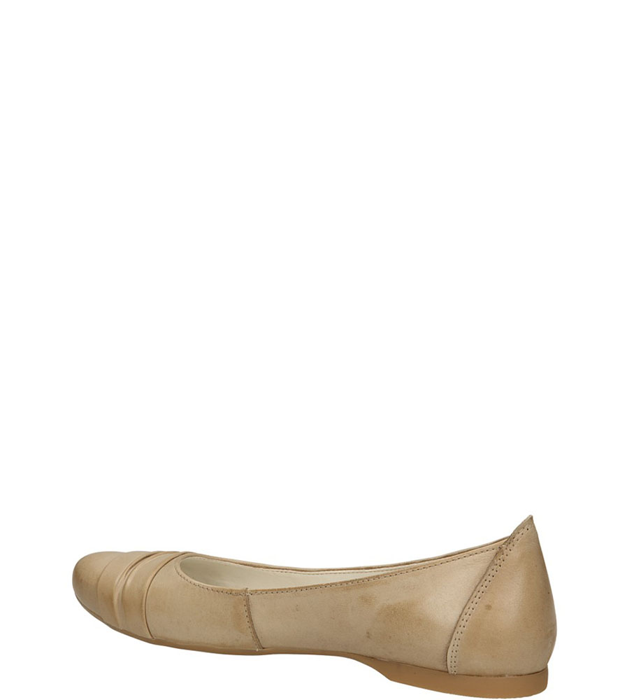 BALERINY CASU 139 kolor cappucino