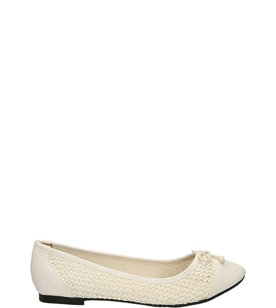 Damskie BALERINY CASU 8832-890 biały;;