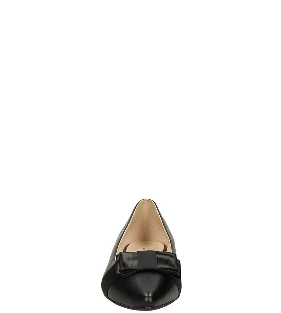 BALERINY SERGIO LEONE A501-3 kolor czarny
