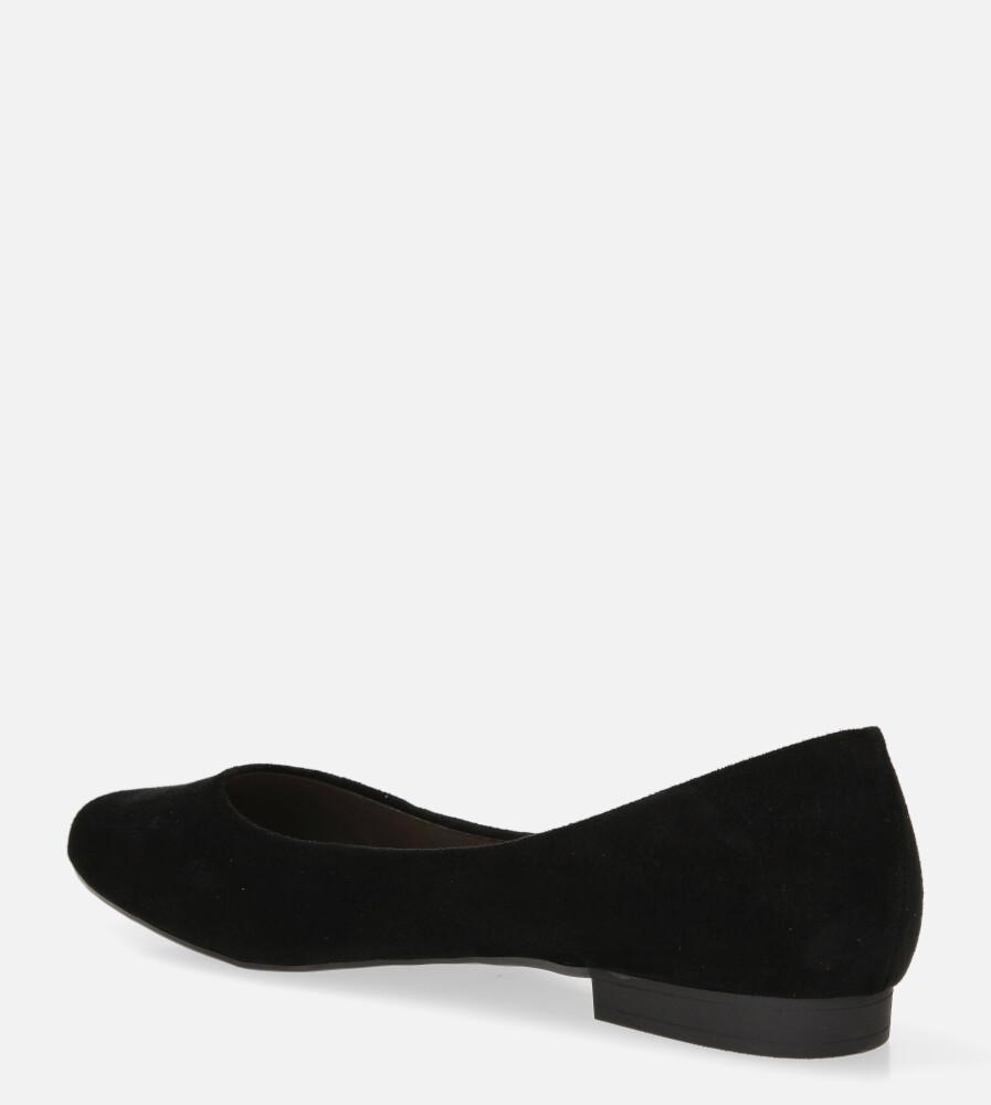 Baleriny Sergio Leone czarne BL611 wysokosc_obcasa 1.5 cm