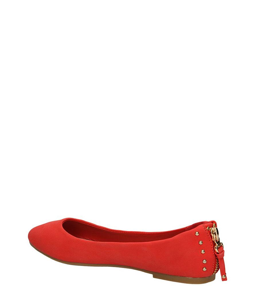 BALERINY TL238TE kolor czerwony