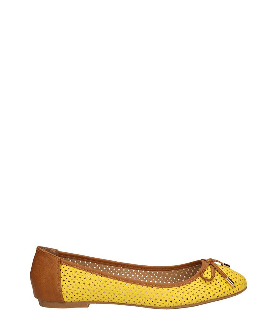 Damskie BALERINY VINCEZA R14-D-P-181 żółty;;