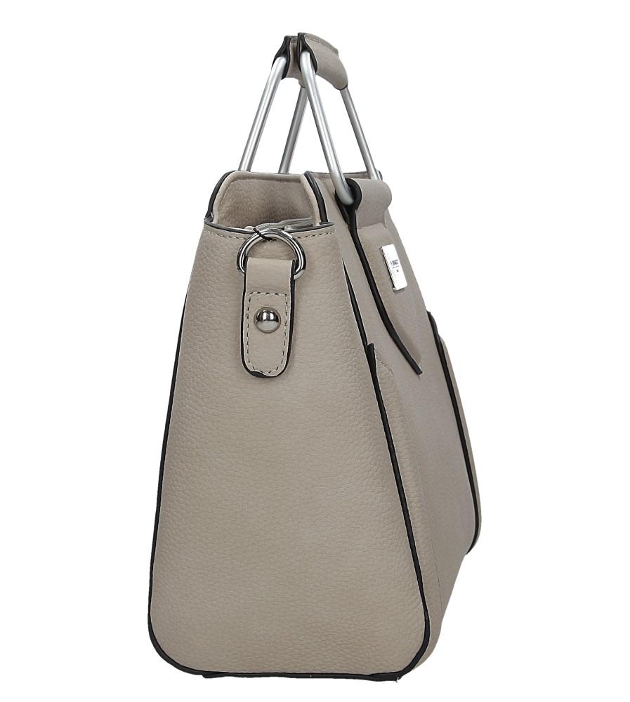 Beżowa torebka do ręki Casu S6397