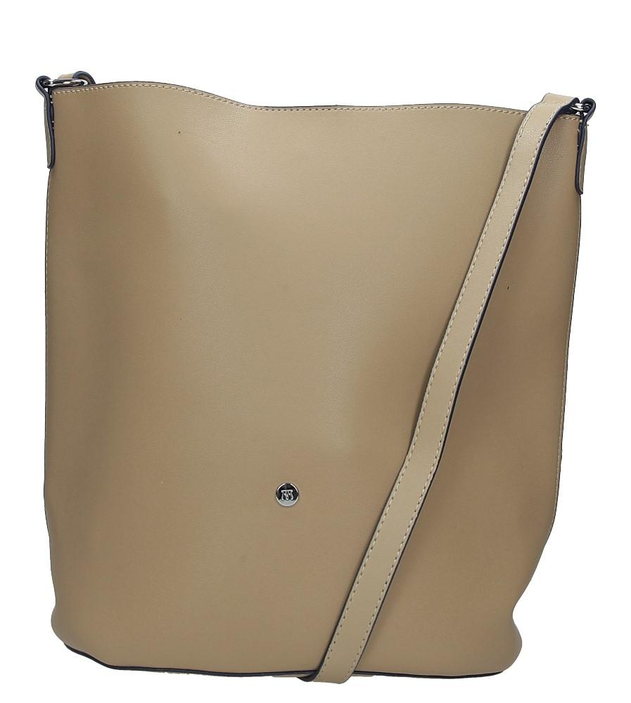 Beżowa torebka listonoszka Casu 3335-MM