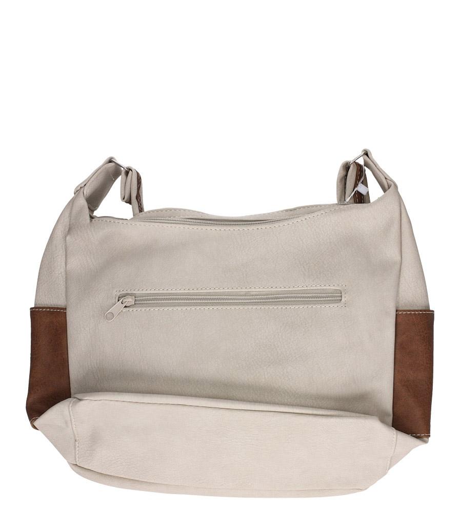 775e1f4e7a561 ... Beżowa torebka z kieszonką z przodu Casu 2010D kolor jasny beżowy. » «