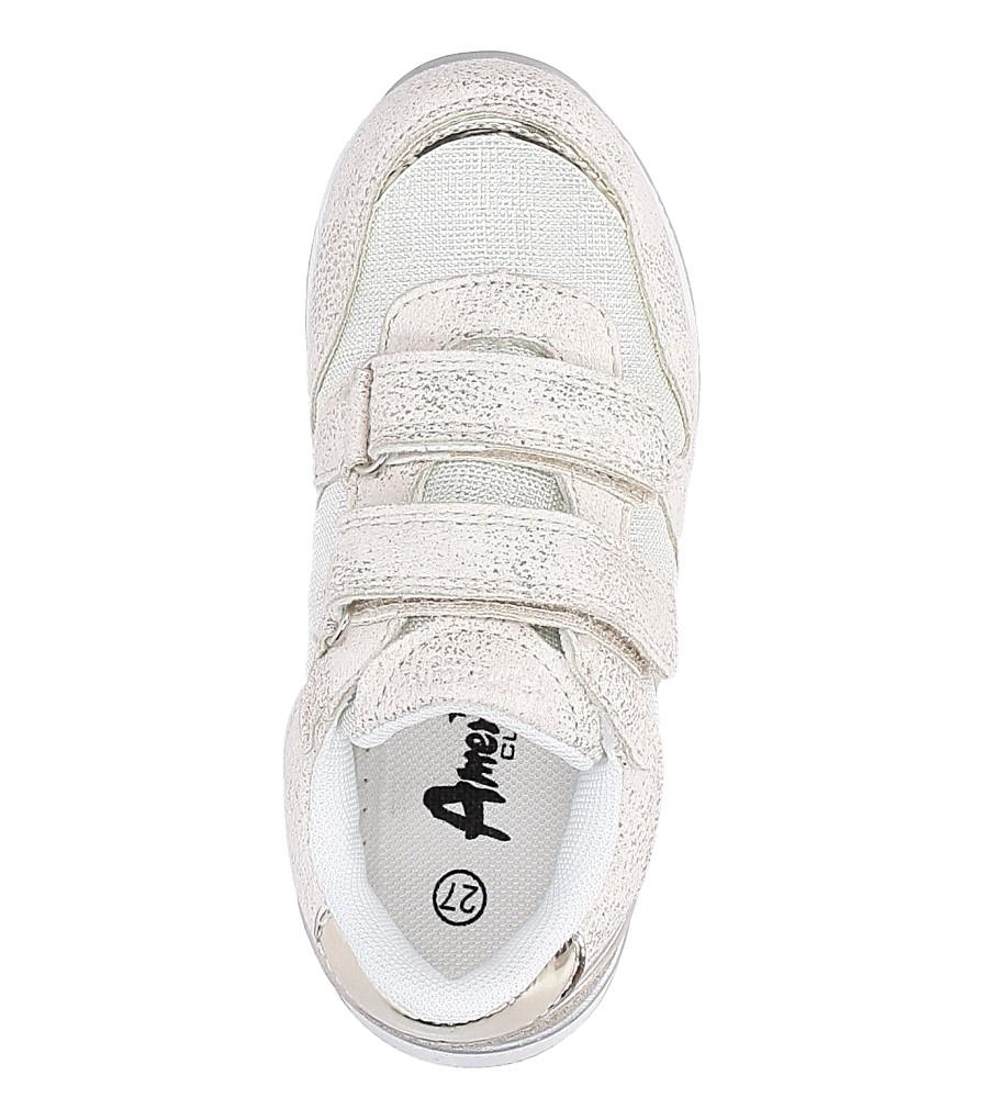 c499b638 ... Beżowe buty sportowe na rzepy American K17381 wysokosc_platformy 1 cm.  » «