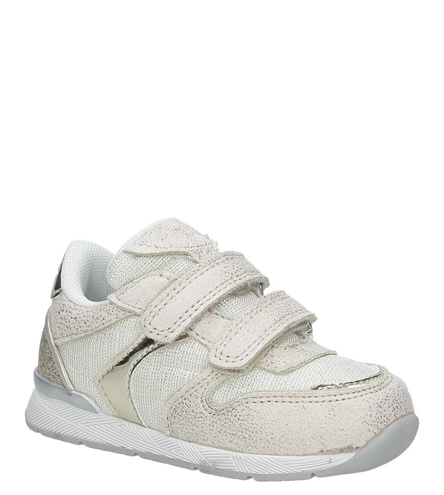 Beżowe buty sportowe na rzepy  American K17381