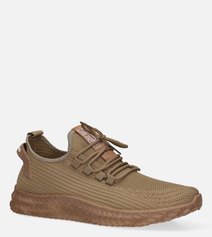 Beżowe buty sportowe sznurowane Casu 20A10/BE producent Casu