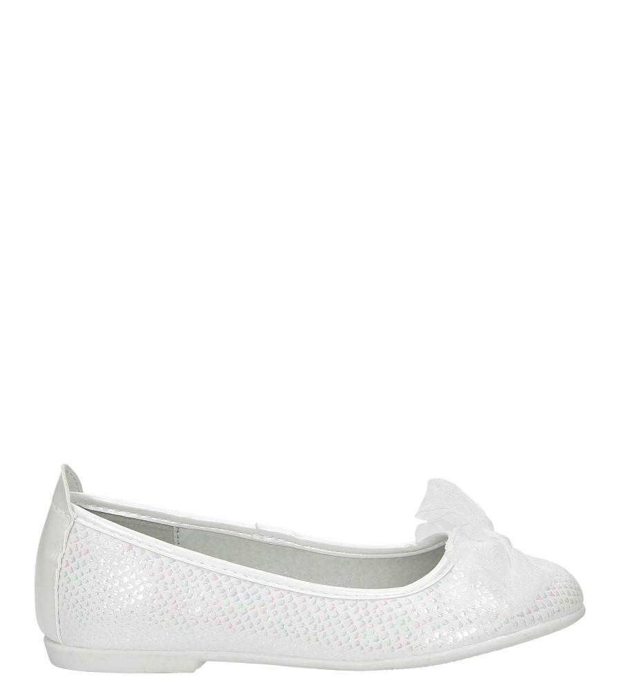 Białe baleriny z kokardą S.Barski 5673-3D model 5673-3D