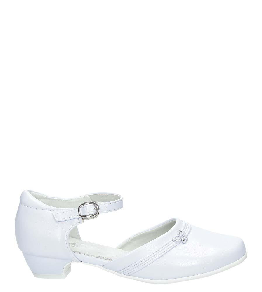 Białe buty komunijne Casu 7KM-220