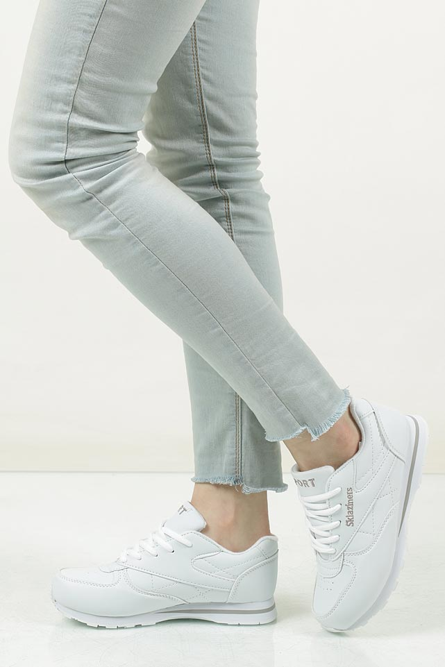 białe buty sportowe casu b014