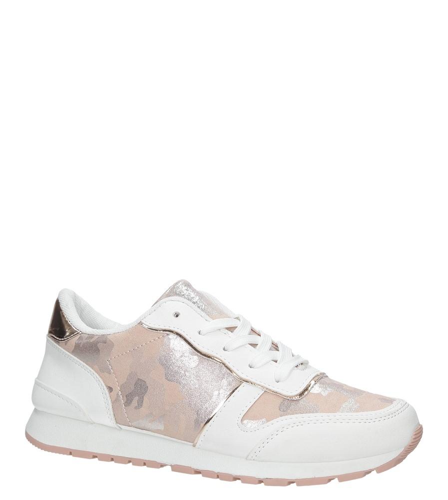 Białe buty sportowe Casu BM1962