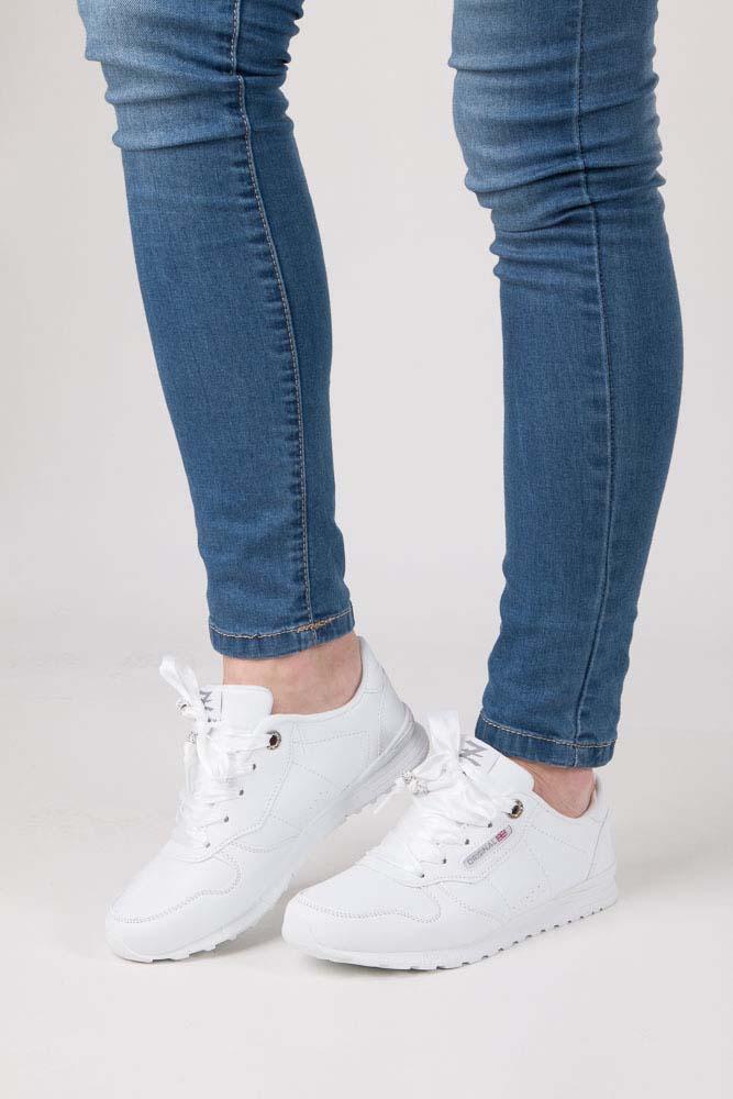 Białe buty sportowe Casu LXC7521 biały