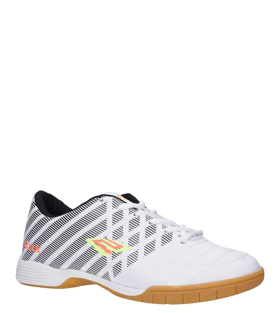 Białe buty sportowe halówki Casu A1713-2 producent Casu