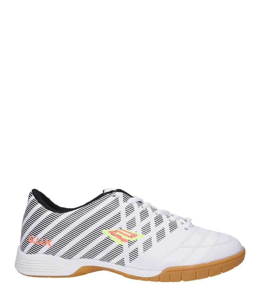 Białe buty sportowe halówki Casu A1713-2