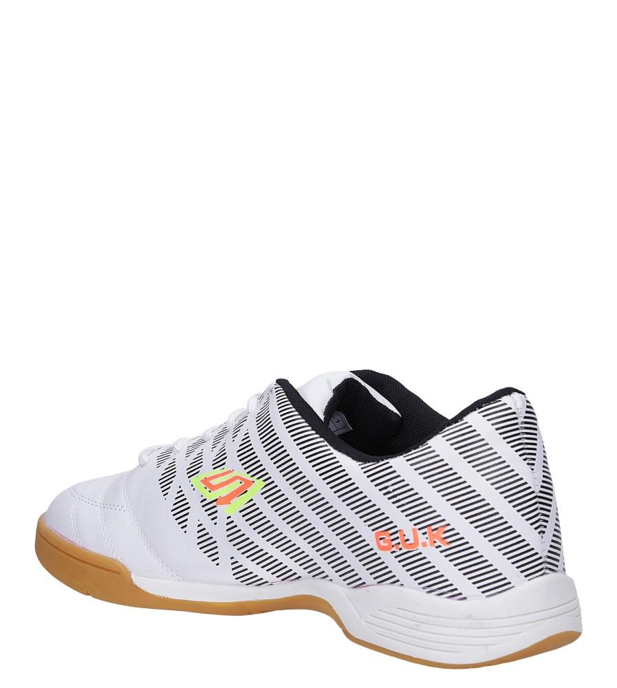 Białe buty sportowe halówki Casu A1713-2 sezon Całoroczny