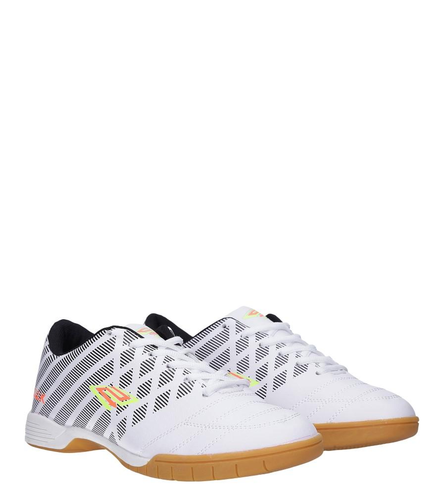 Białe buty sportowe halówki Casu A1713-2 kolor biały, czarny