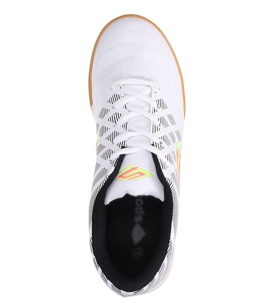 Białe buty sportowe halówki Casu A1713-2 wys_calkowita_buta 12.5 cm