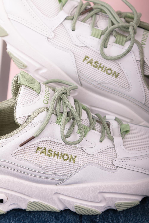Białe buty sportowe sneakersy sznurowane Casu 204/33G biały