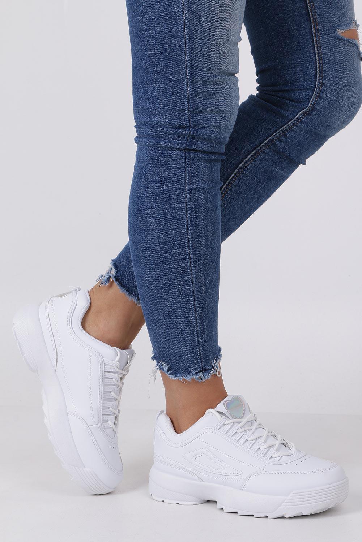 02622681 ... Białe buty sportowe sneakersy sznurowane Casu F6-8 sezon Całoroczny ...