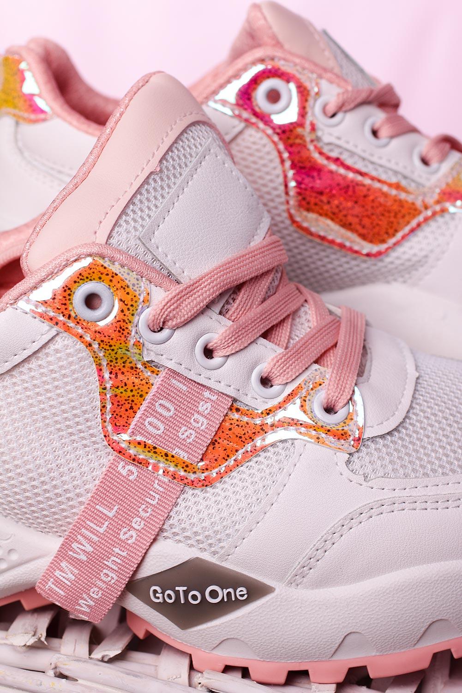 Białe buty sportowe sneakersy sznurowane Casu M926-1 biały