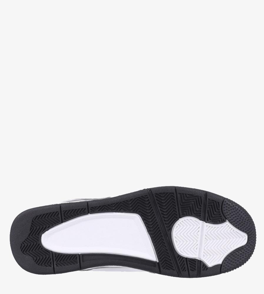 Białe buty sportowe sznurowane Casu 201C/WG5 wys_calkowita_buta 15 cm