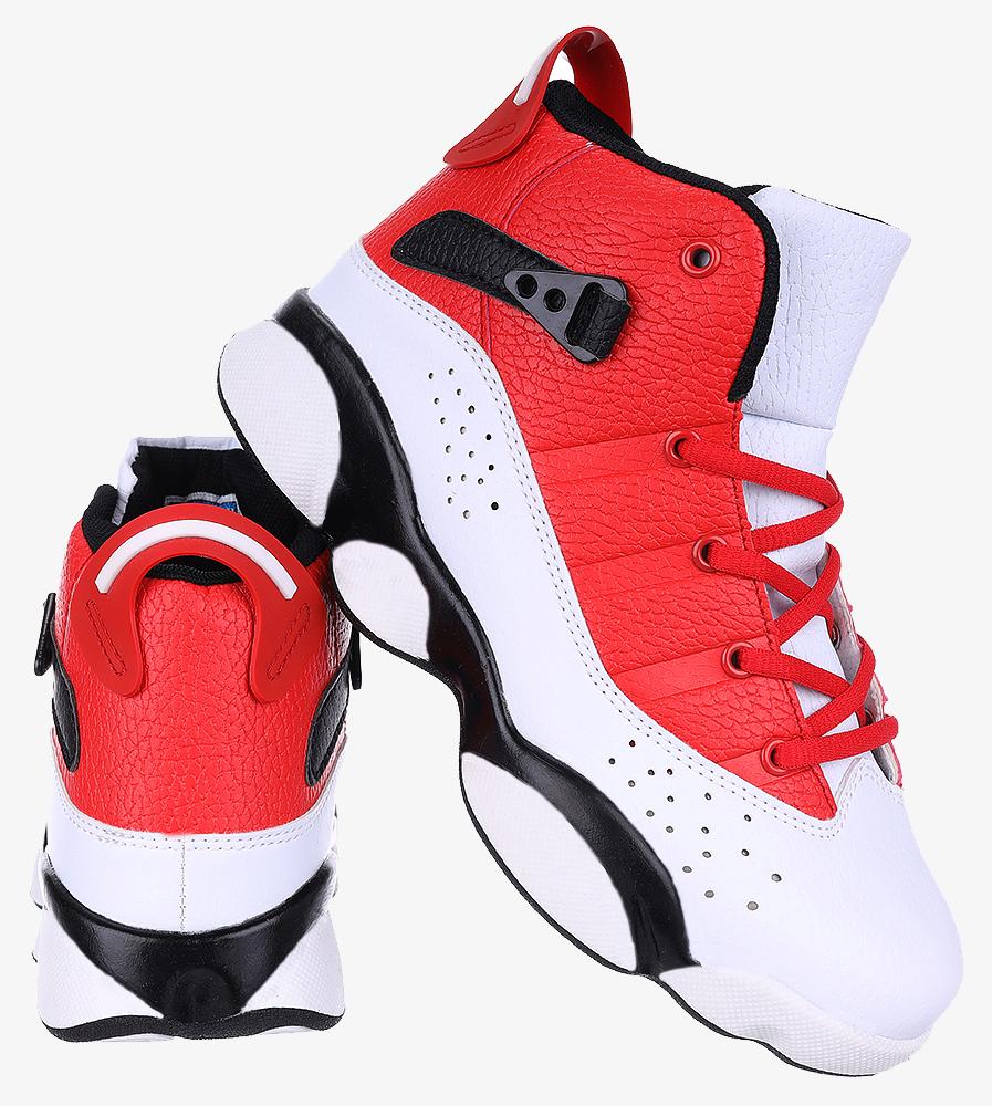 Białe buty sportowe sznurowane Casu 201D/WR1 wysokosc_platformy 2 cm