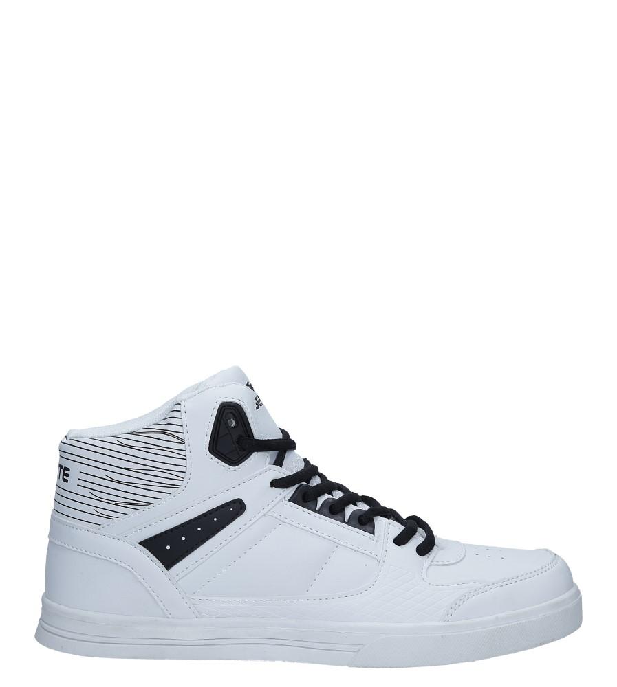 Białe buty sportowe sznurowane Casu A1375-3