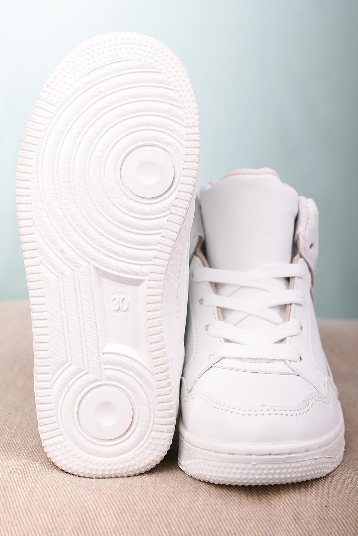 Białe buty sportowe sznurowane Casu C917 kolor biały