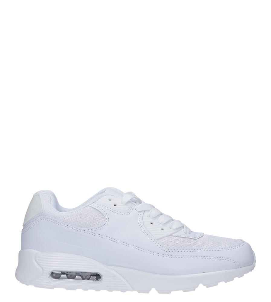 Białe buty sportowe sznurowane Casu E35 biały