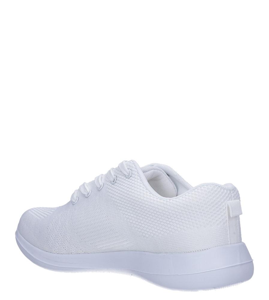 Białe buty sportowe sznurowane Casu F6-12 sezon Całoroczny