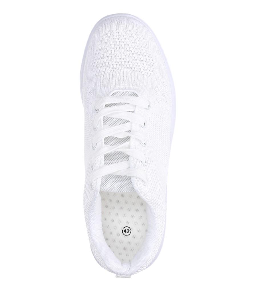 Białe buty sportowe sznurowane Casu F6-12 wys_calkowita_buta 11 cm