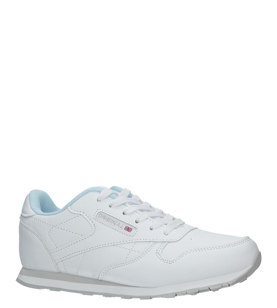 Białe buty sportowe sznurowane Casu LXC7236