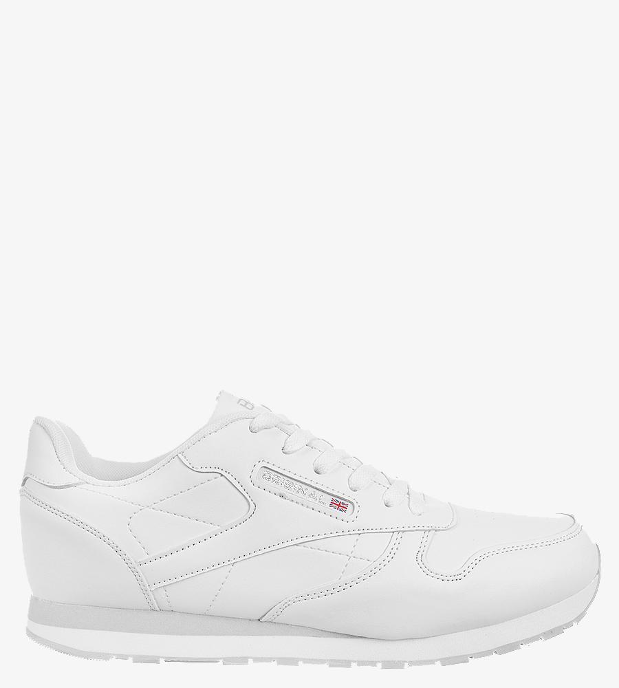 Białe buty sportowe sznurowane Casu MXC7236