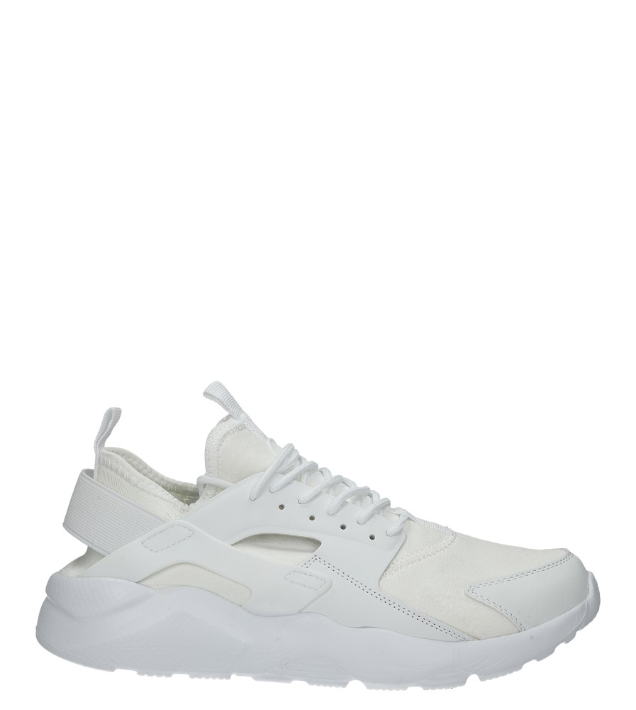 Białe buty sportowe sznurowane Casu U8102-2