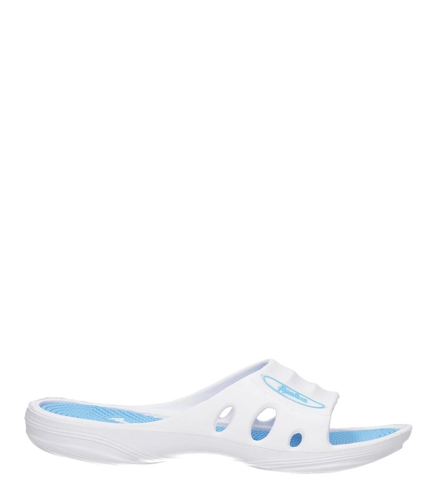 Białe klapki American NH-S8238