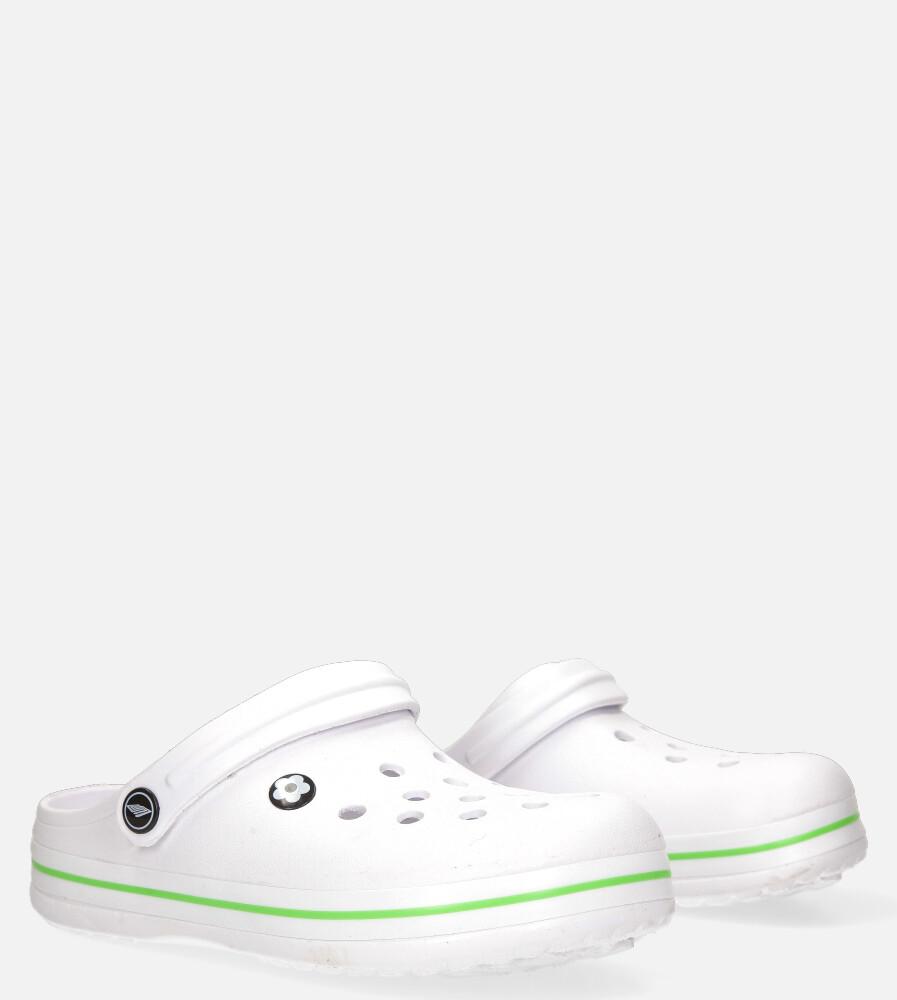 Białe klapki basenowe Casu 8917B biały
