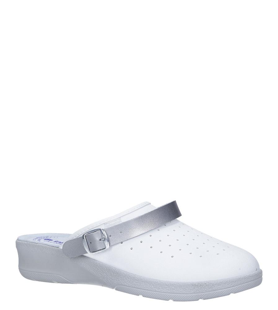 Białe klapki sanitarne medyczne Inblu 50000035