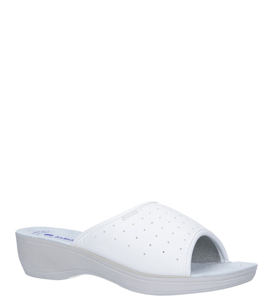 Białe klapki sanitarne medyczne Inblu PL000045 producent Inblu