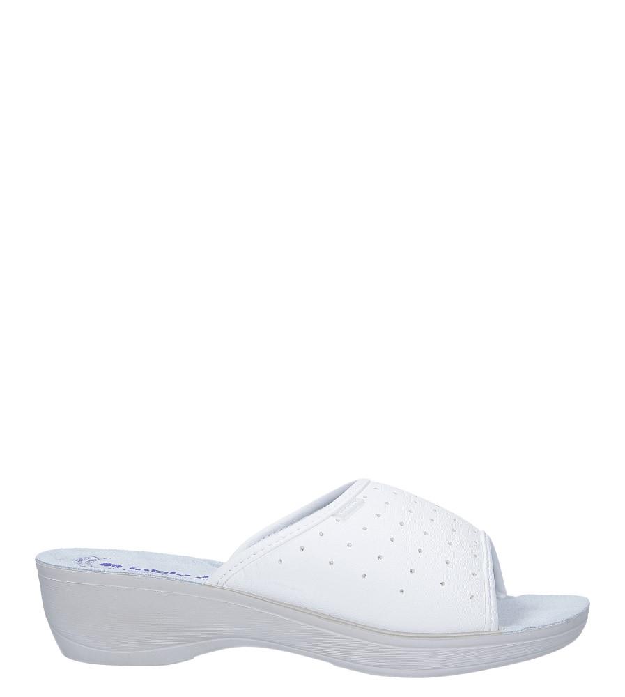 Białe klapki sanitarne medyczne Inblu PL000045
