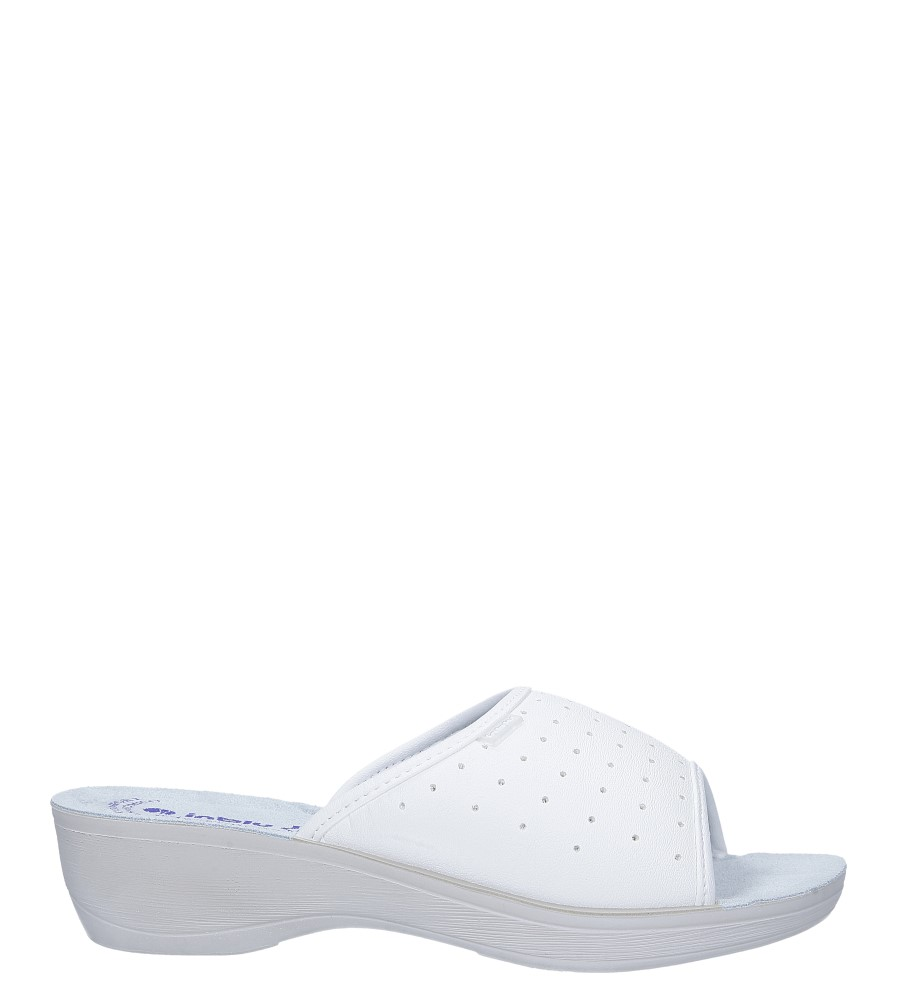 Białe klapki sanitarne medyczne Inblu PL000045 model PL000045