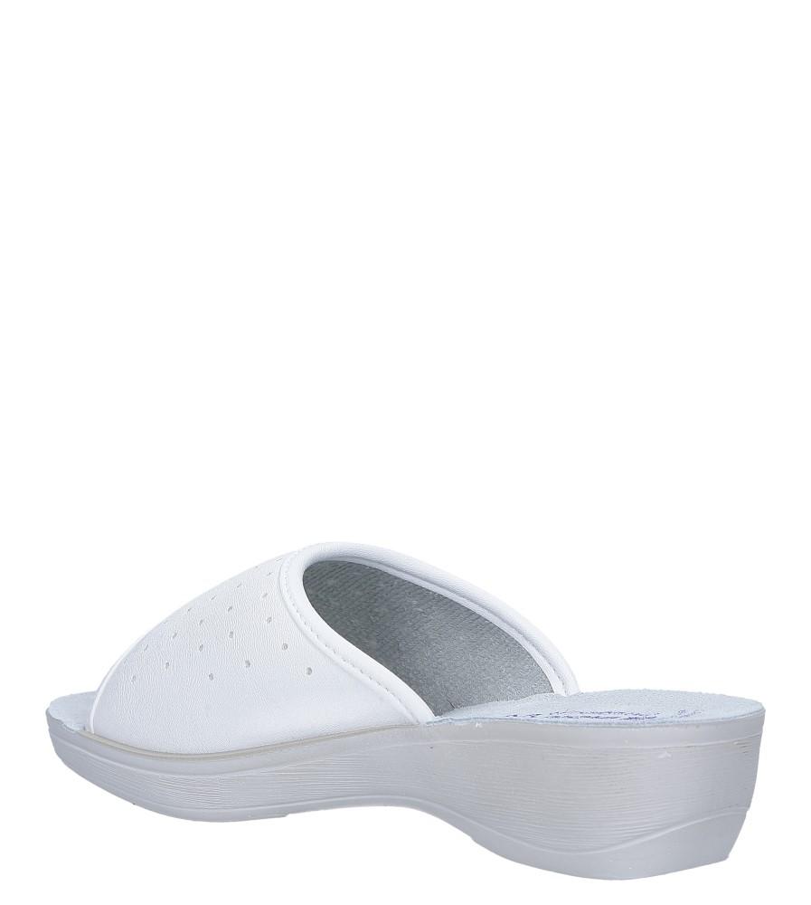 Białe klapki sanitarne medyczne Inblu PL000045 sezon Całoroczny