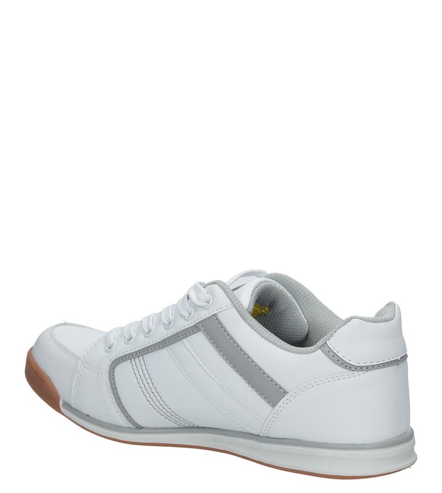 białe półbuty sportowe sznurowane casu mxc7510