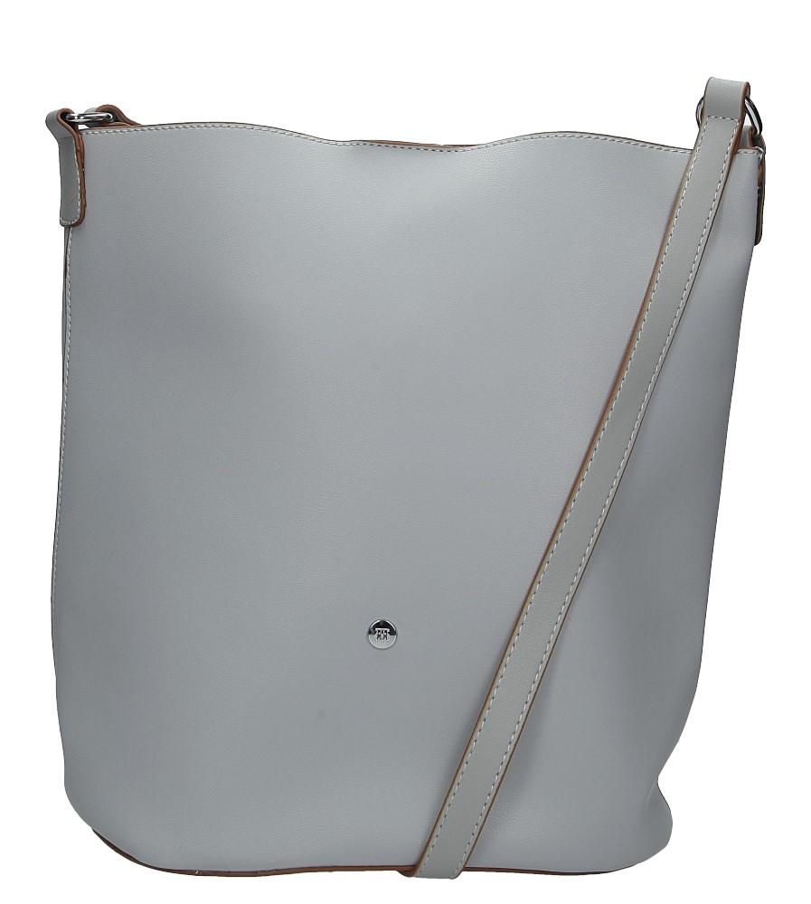 Błękitna torebka listonoszka Casu 3335-MM